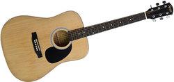 Fender Squier  SA-105 Pack, Natural