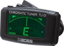 Boss TU-01 klipsiviritysmittari