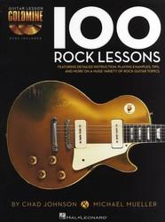 100 Rock Lessons + online audio