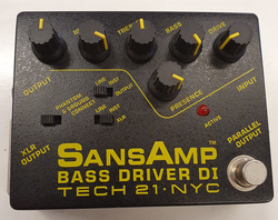 Tech 21 SansAmp Bass Driver DI (K)