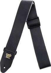 Ernie Ball EB-4134 Italian Leather Strap Black