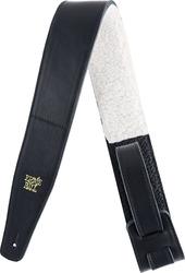 Ernie Ball EB-4137 Italian Leather Strap Black