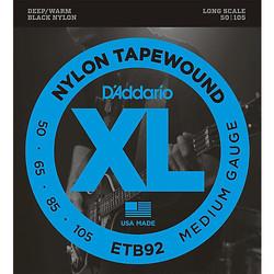 D'Addario Black Nylon Tapewound 50-105 ETB92