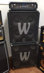 Warwick Pro Fet 5.1 + cab 115 + cab 410 (K)