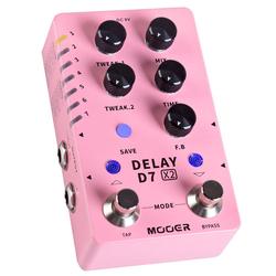 Mooer X2 Delay D7