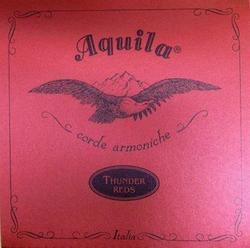 Aguila Bass Ukulele Thunder Red 91U