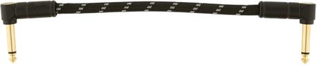 Fender Deluxe 15cm kulma välijohto / 1 kpl