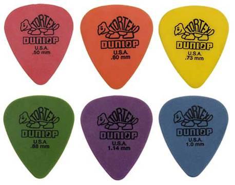Dunlop Tortex plektra