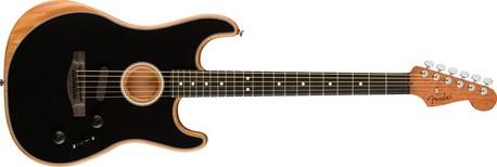 Fender American Acoustasonic Stratocaster BLK