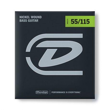 Dunlop DBN55115 55-115 bassonkielisetti