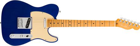 Fender American Ultra Tele MN Cobra Blue