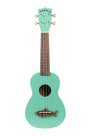 MAKALA Shark sopr.ukulele surf green