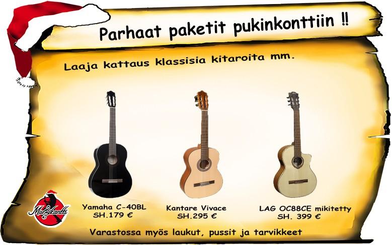 Nylonkieliset klassiset Musikantista